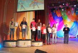 Оля Жолудева - победитель на Празднике Севера